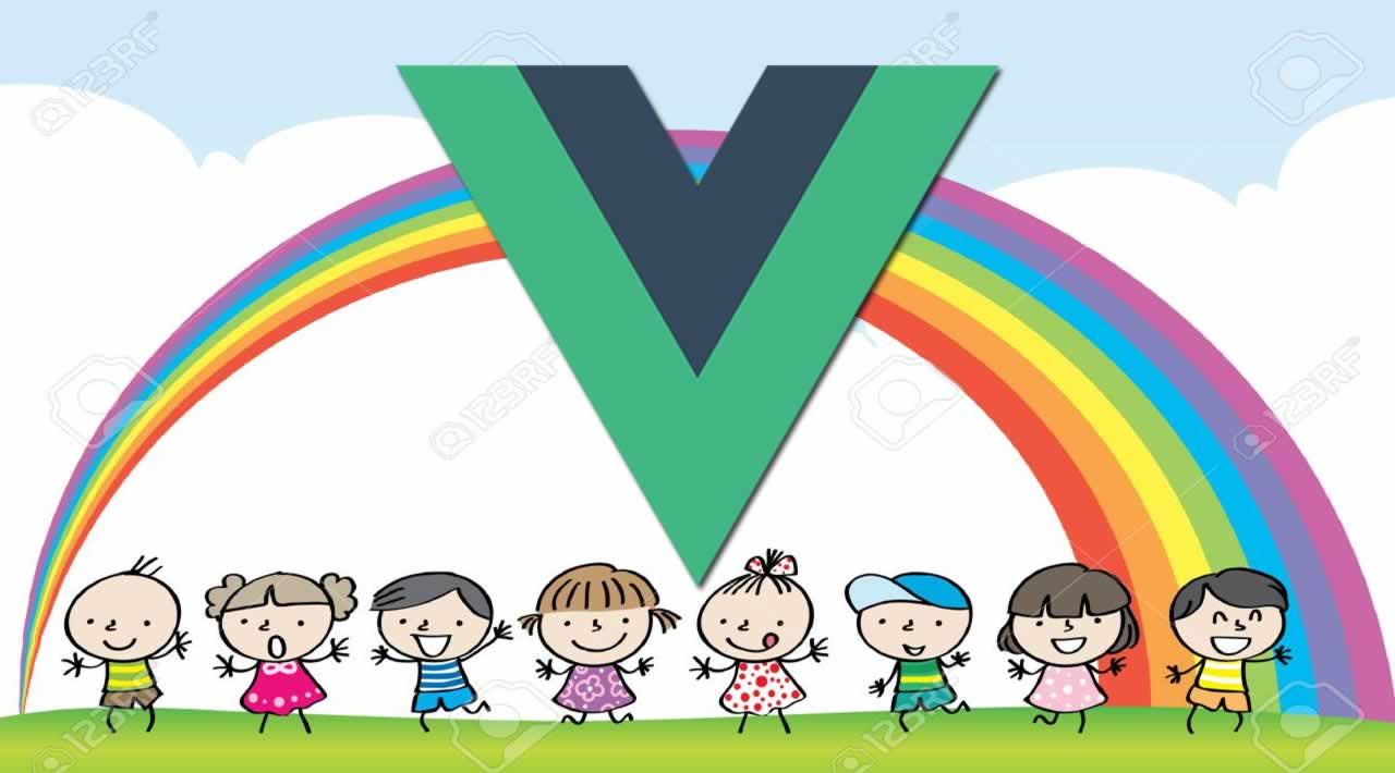 Create a Rainbow in Vue