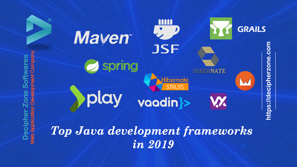 Top Java Development Frameworks in 2019