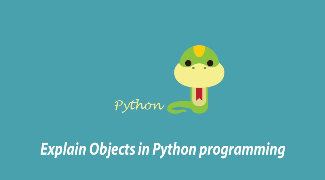 Explain Objects in Python programming