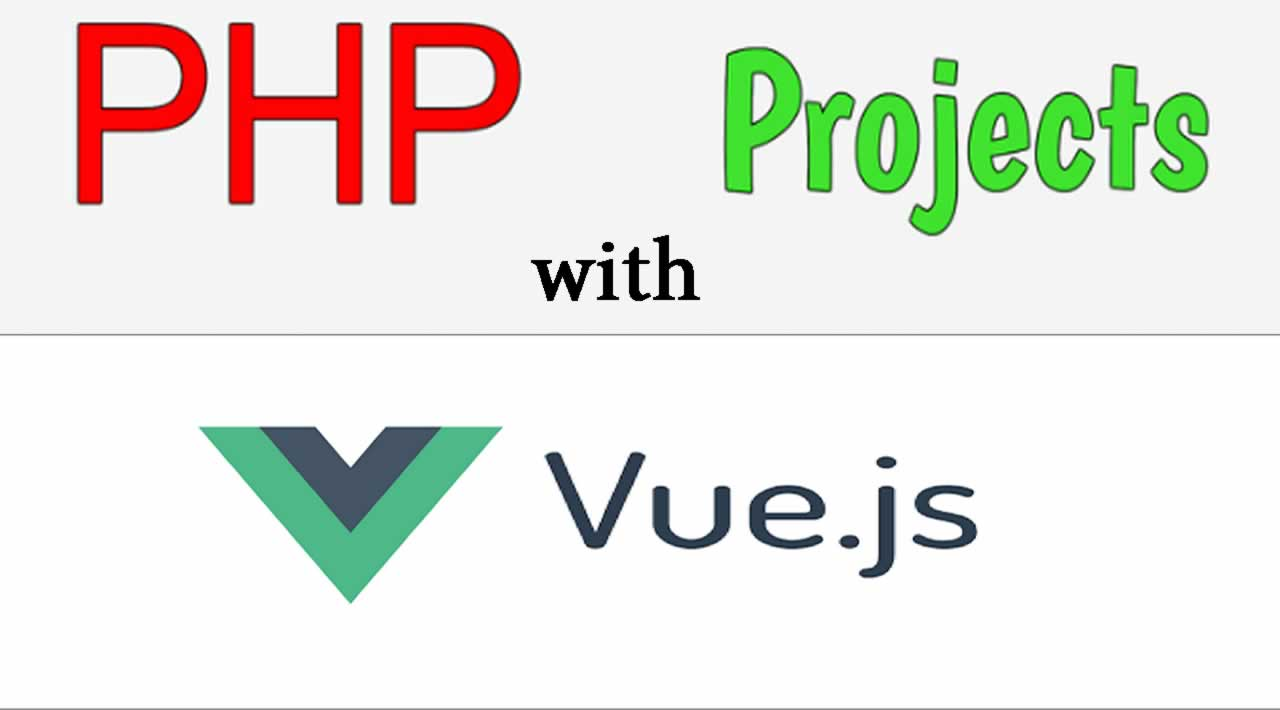 How to use Vue.js in a PHP your application
