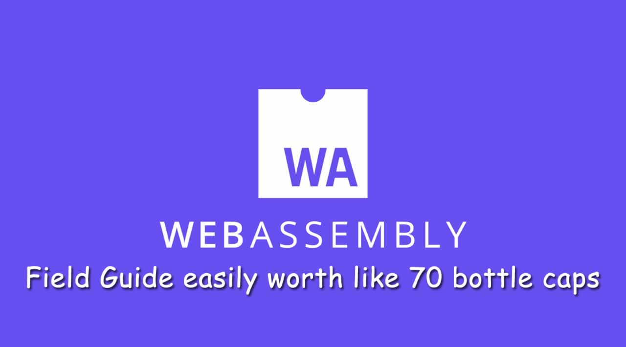 A WebAssembly Field Guide easily worth like 70 bottle caps