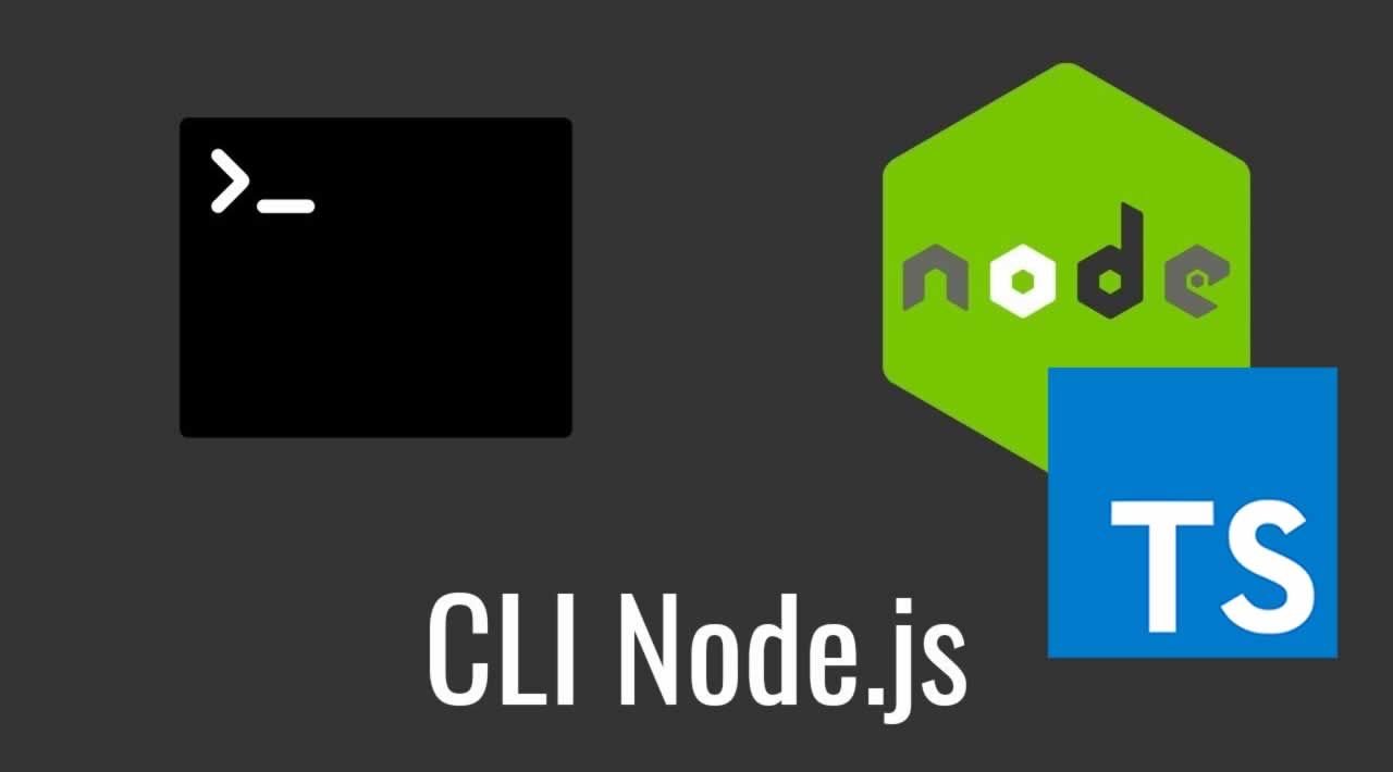 How to Build a CLI for Node.js application using Typescript