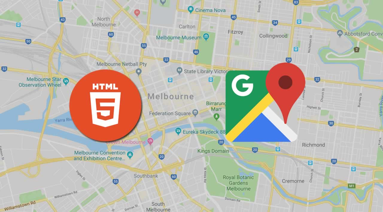 HTML 5 tutorial - How to view Google Maps in the HTML Page?