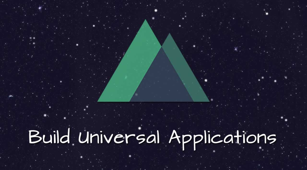 Build Universal Applications with Nuxt.js