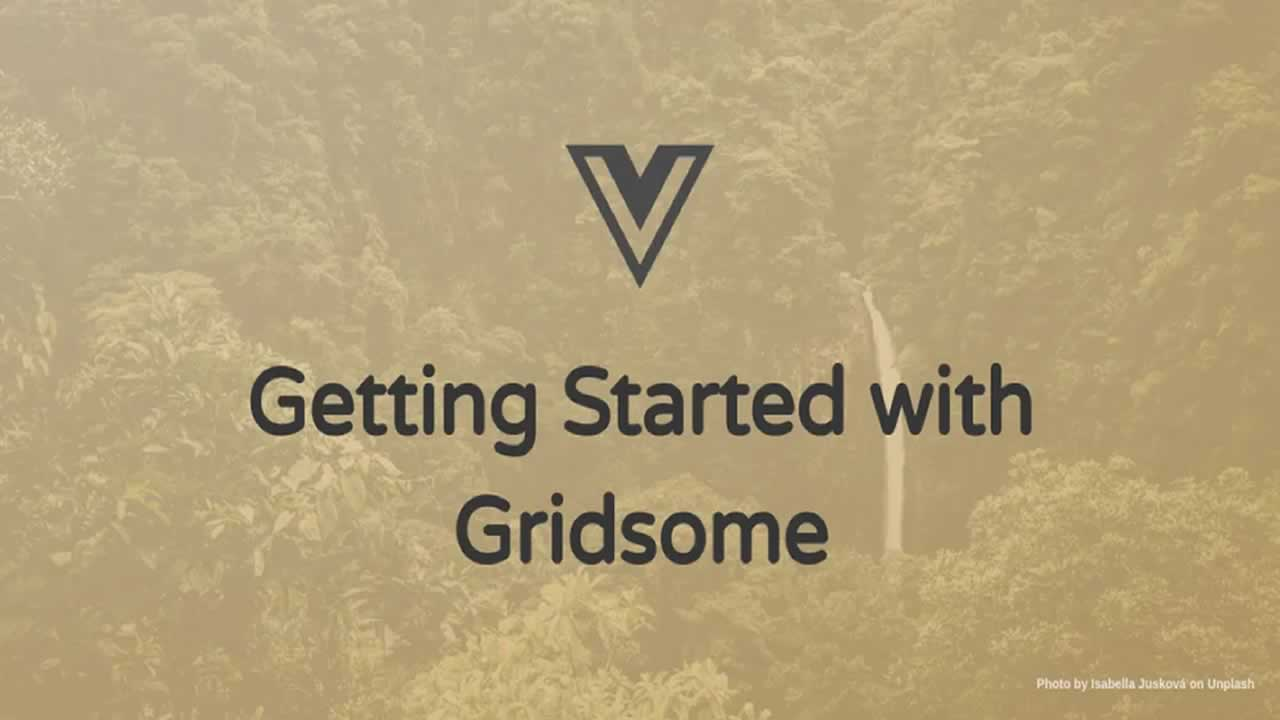 Getting Started with Gridsome
