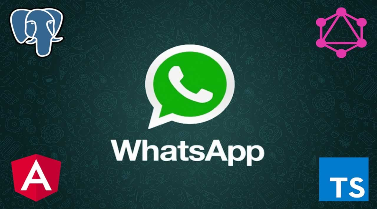Fully functional WhatsApp Clone using Angular, GraphQL, Apollo, TypeScript and PostgreSQL