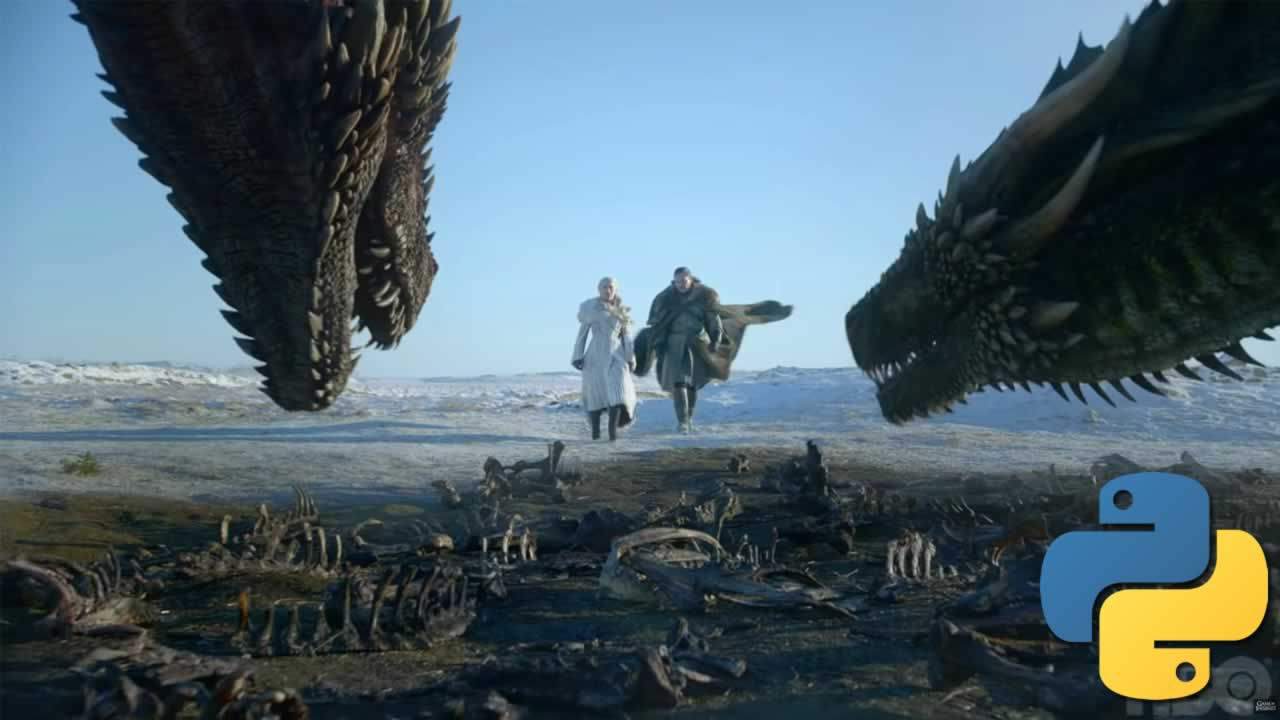 How I used Python to analyze Game ofThrones