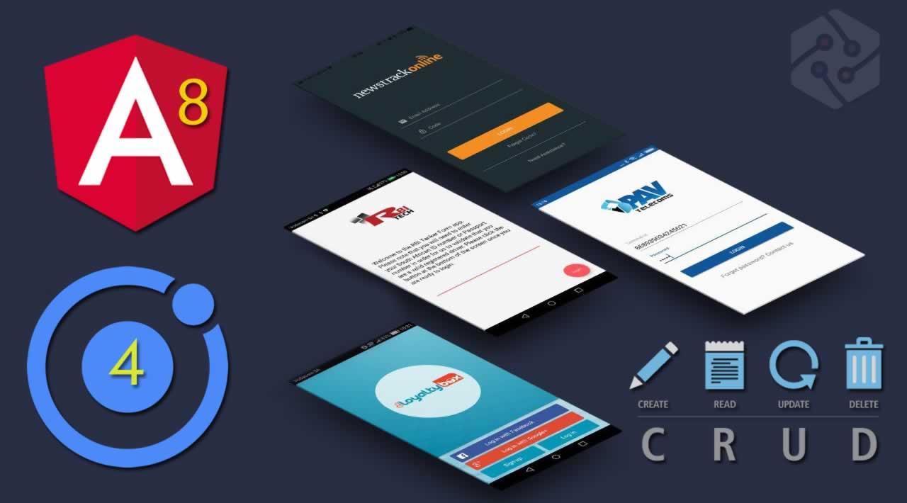 Building CRUD Mobile App using Ionic 4, Angular 8