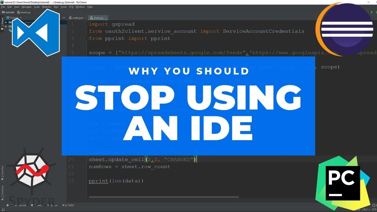 Why You Should STOP Using an IDE (Integrated Development Environment)