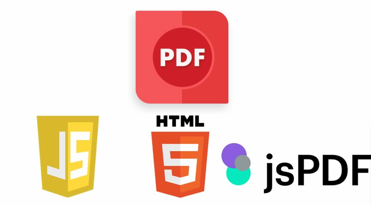 How to Create PDF from HTML with JSPDF