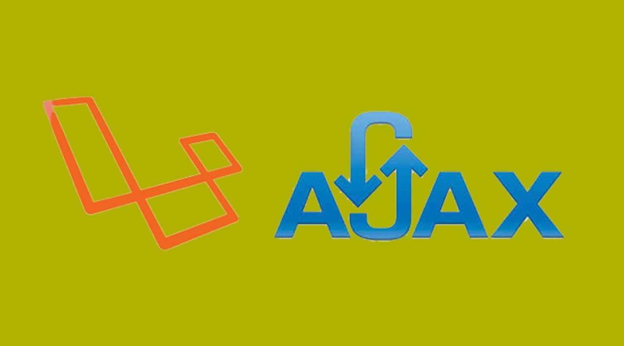How to Get Data using Ajax request in Laravel Web App
