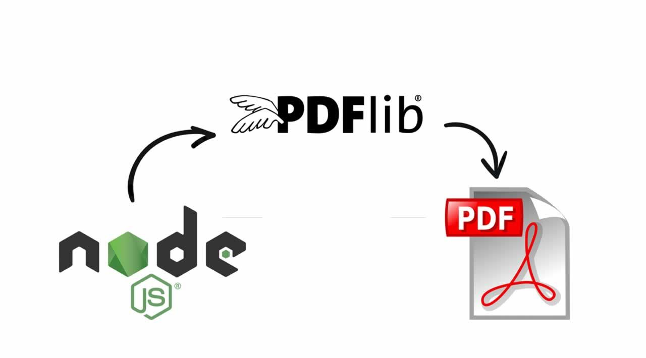 How to Work with PDFs in Node.js using pdf-lib