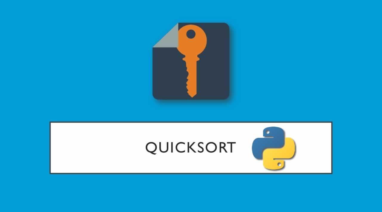 Understand what is Quicksort in Python