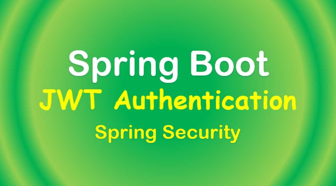 How to Build a Token-based authentication server using Spring Boot and Spring Security