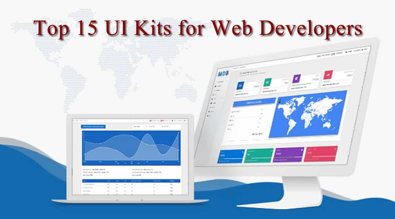 Top 15 UI Kits for Web Developers
