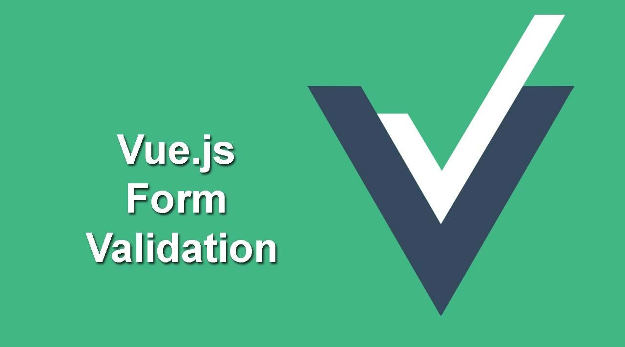Things required before using Vuelidate