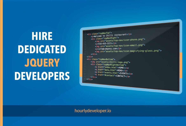 Hire Dedicated Jquery Developer