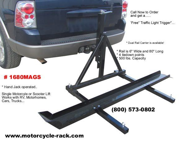 RV & Motorhome Motorcycle Lifts