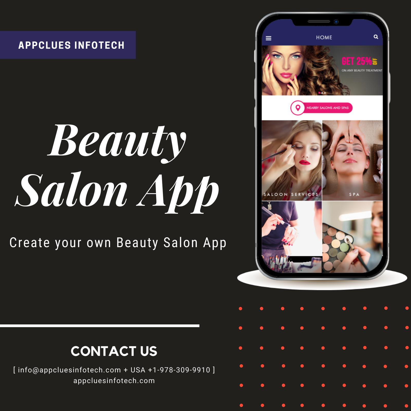 Best Beauty Salon App Development Company