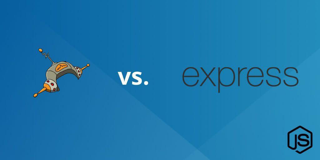 Node.js performance vs Hapi, Express, Restify, Koa & More
