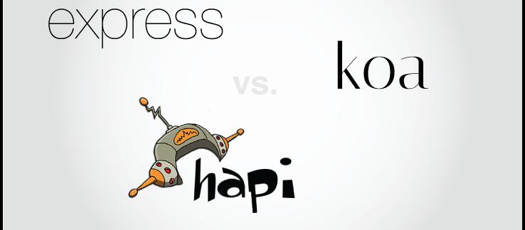 Node performance: Hapi, Express.js, Restify