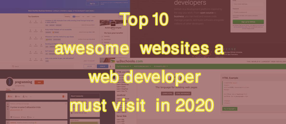 Best Web Development Answers on StackOverflow - September, 2015