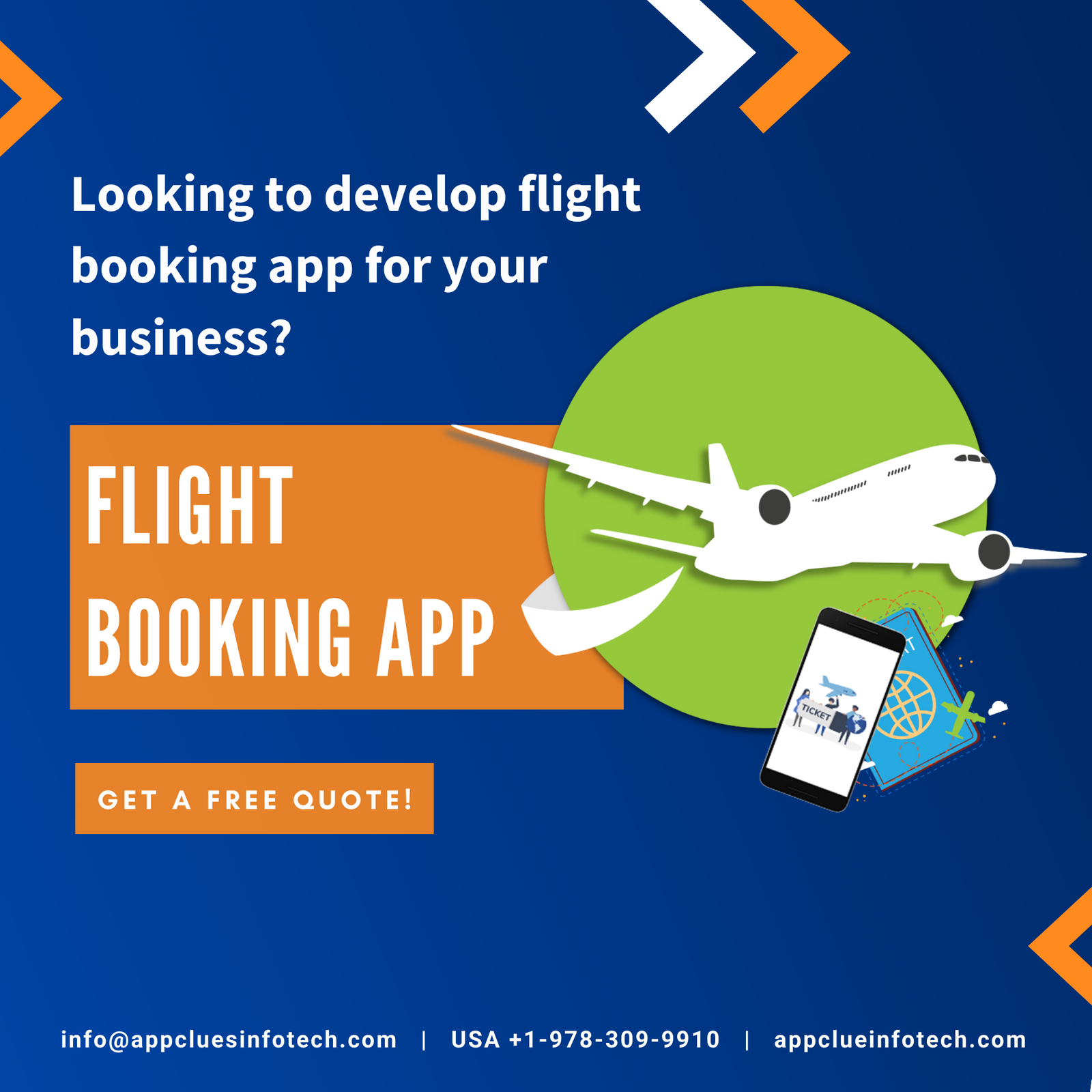 Best Flight Booking App Development Company