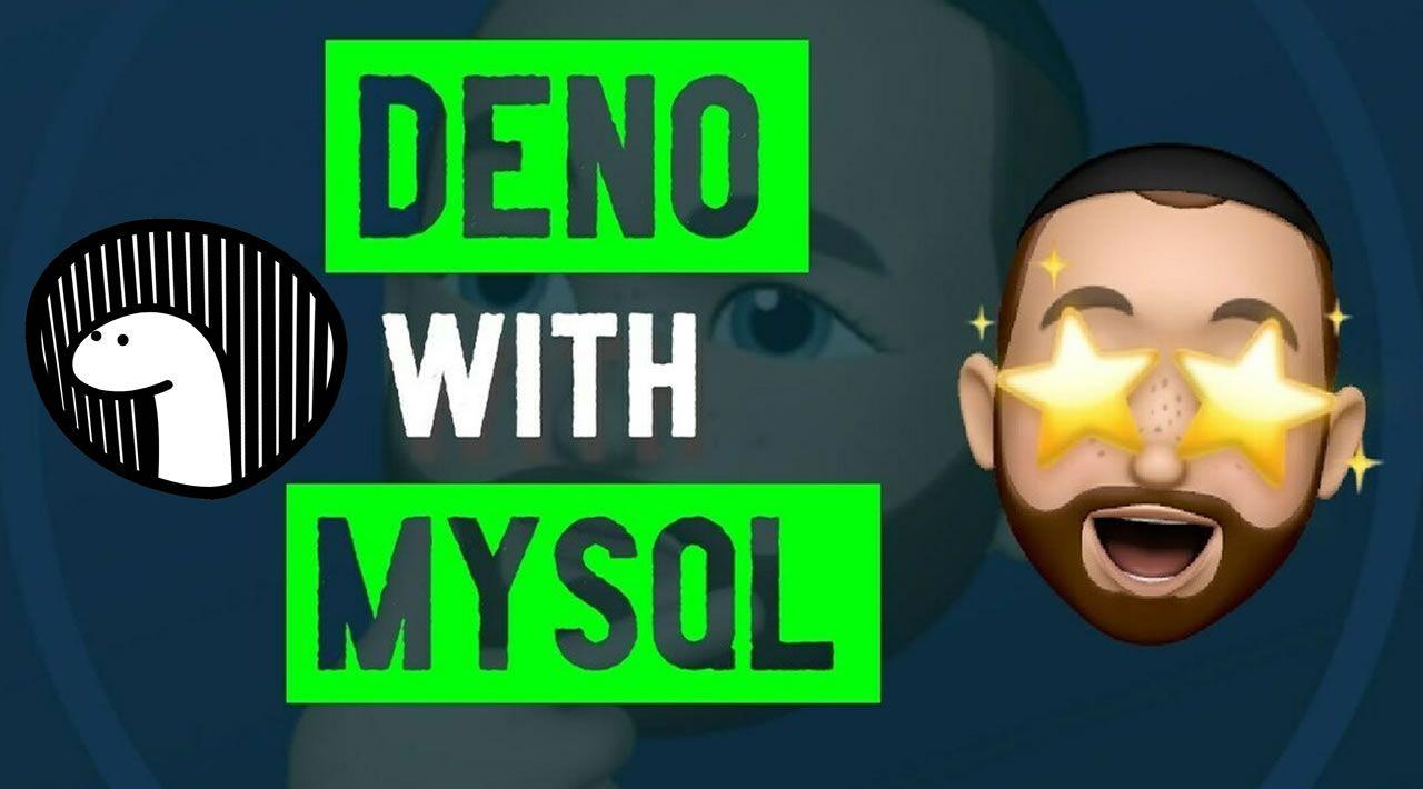 Deno JS: CRUD and MySQL Connection