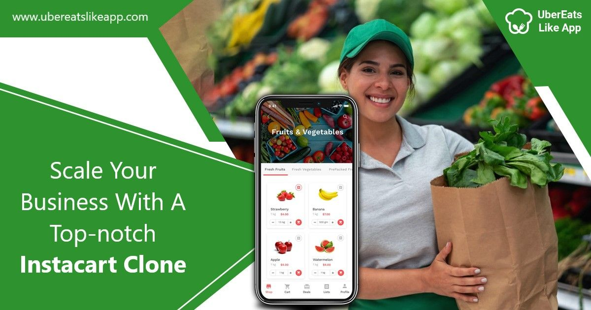 Scale Your Business With a Top-notch Instacart Clone