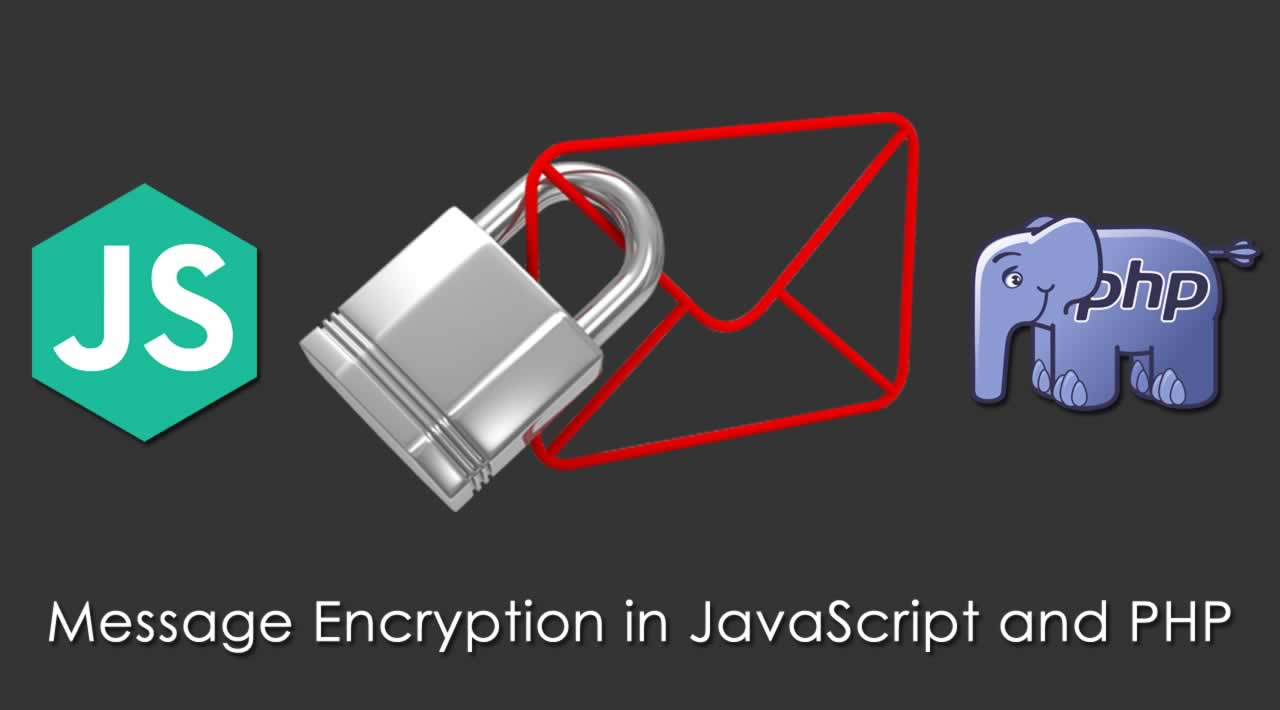 Message Encryption in JavaScript and PHP