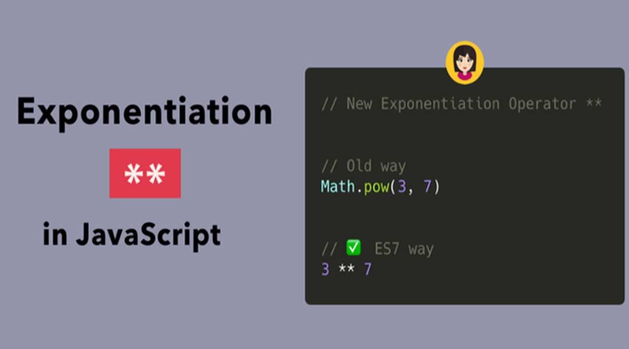 Exponentiation Operator in JavaScript