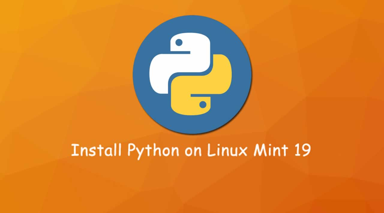 How to Install Python on Linux Mint 19
