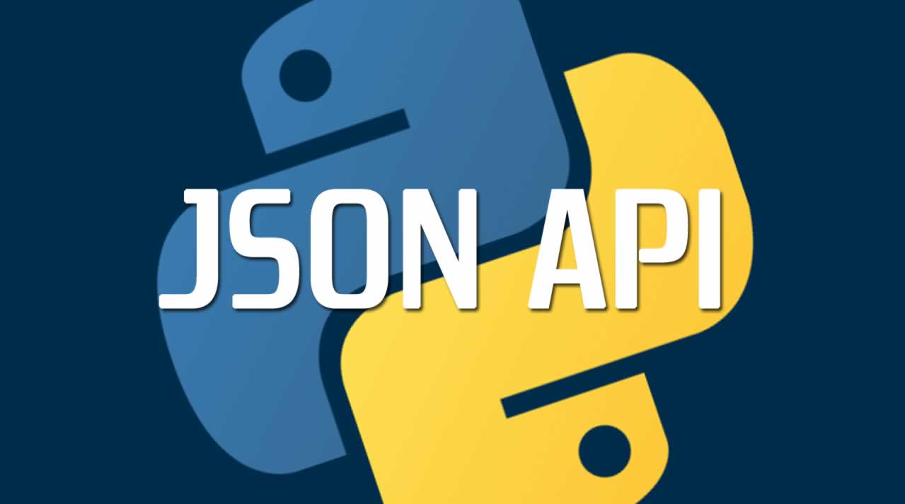 How to build a JSON API with Python