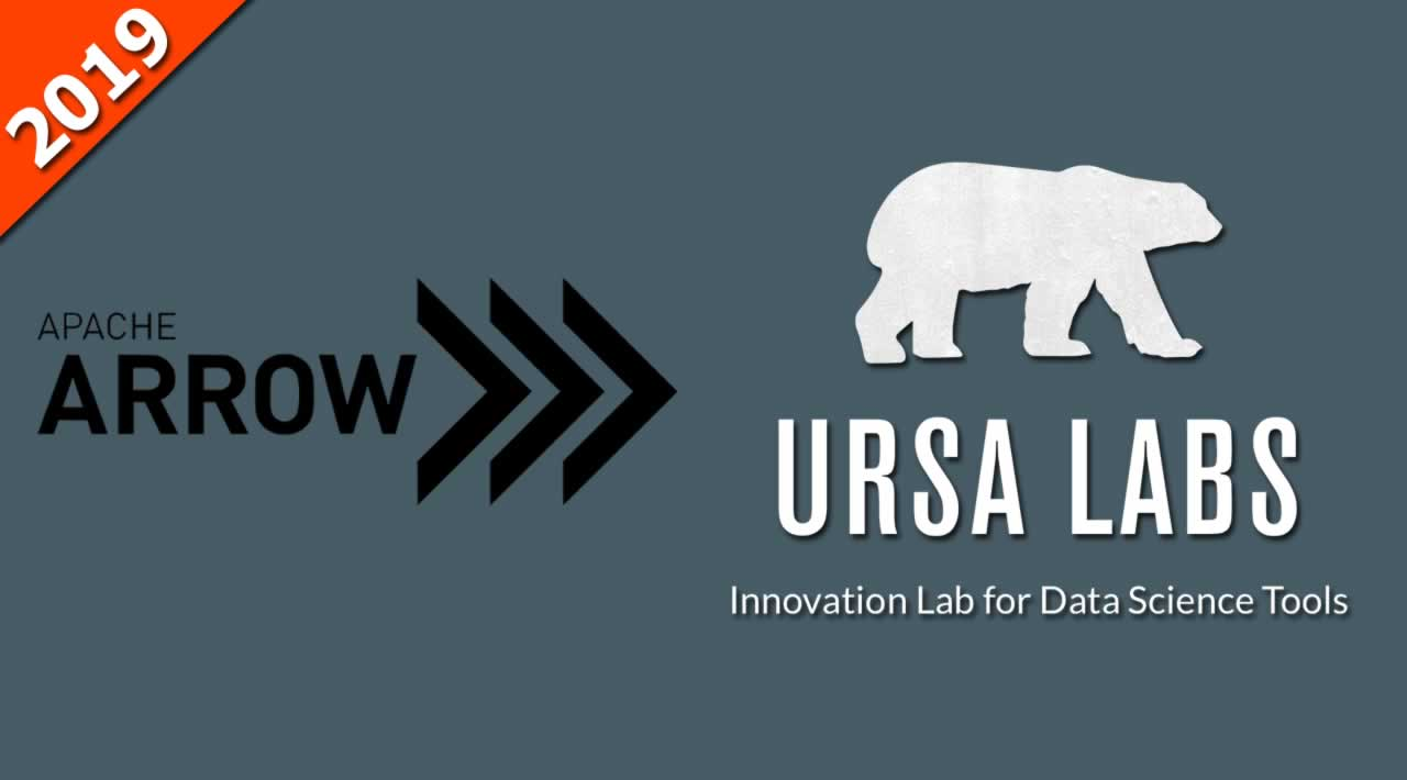Ursa Labs and Apache Arrow in 2019