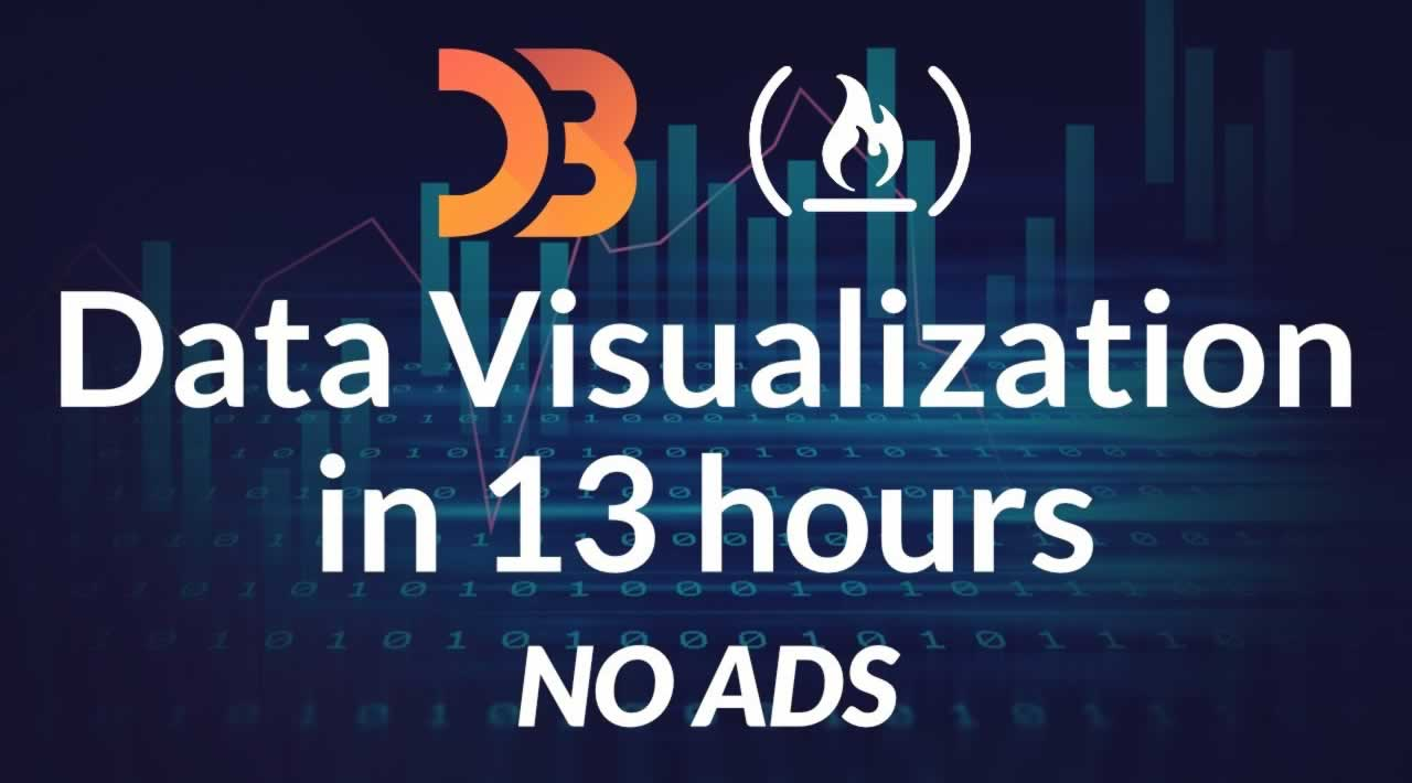 Data Visualization Course - Full Tutorial Featuring D3.js