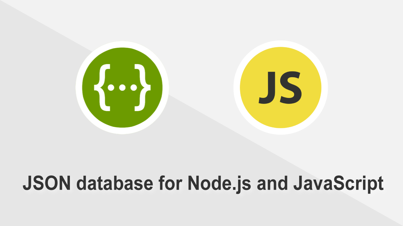 Json Javascript database for Node.js, Electron and Browser