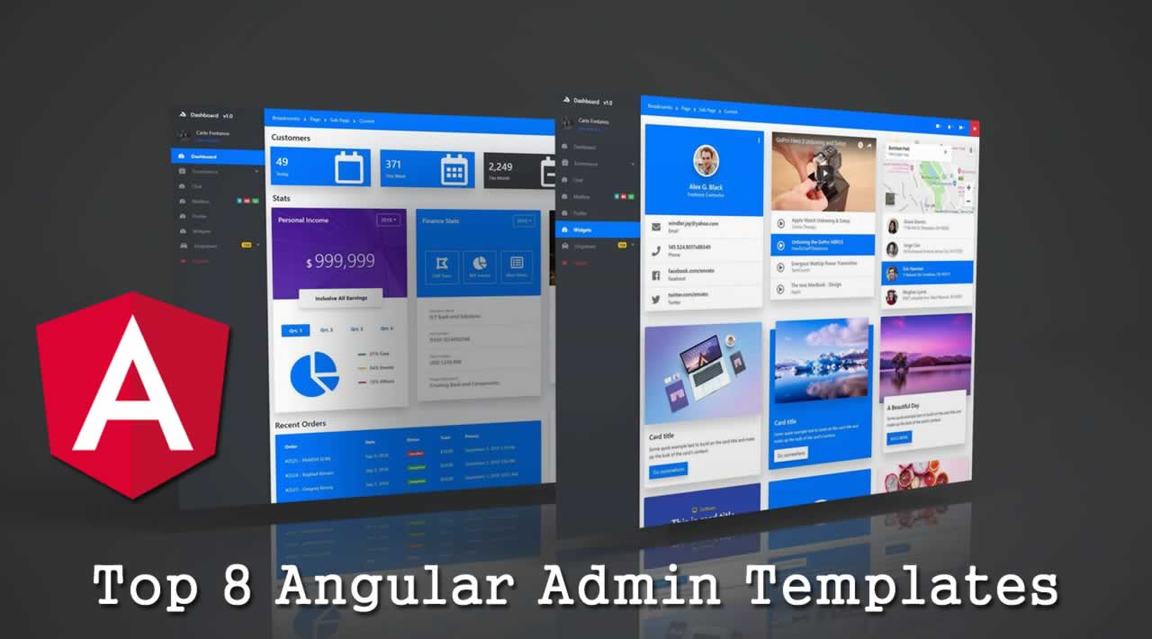 Top 8 Angular Admin Templates You Should Know in 2020