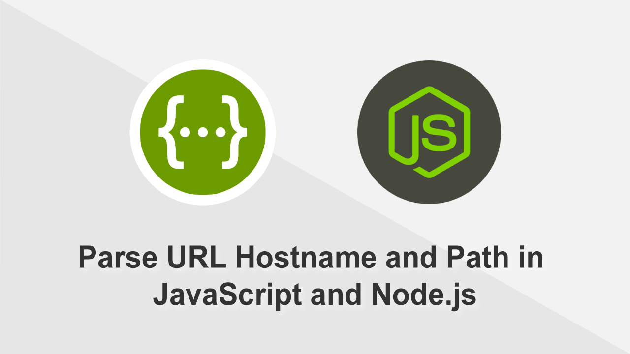 How to parse a URL Hostname in JavaScript and Node.js
