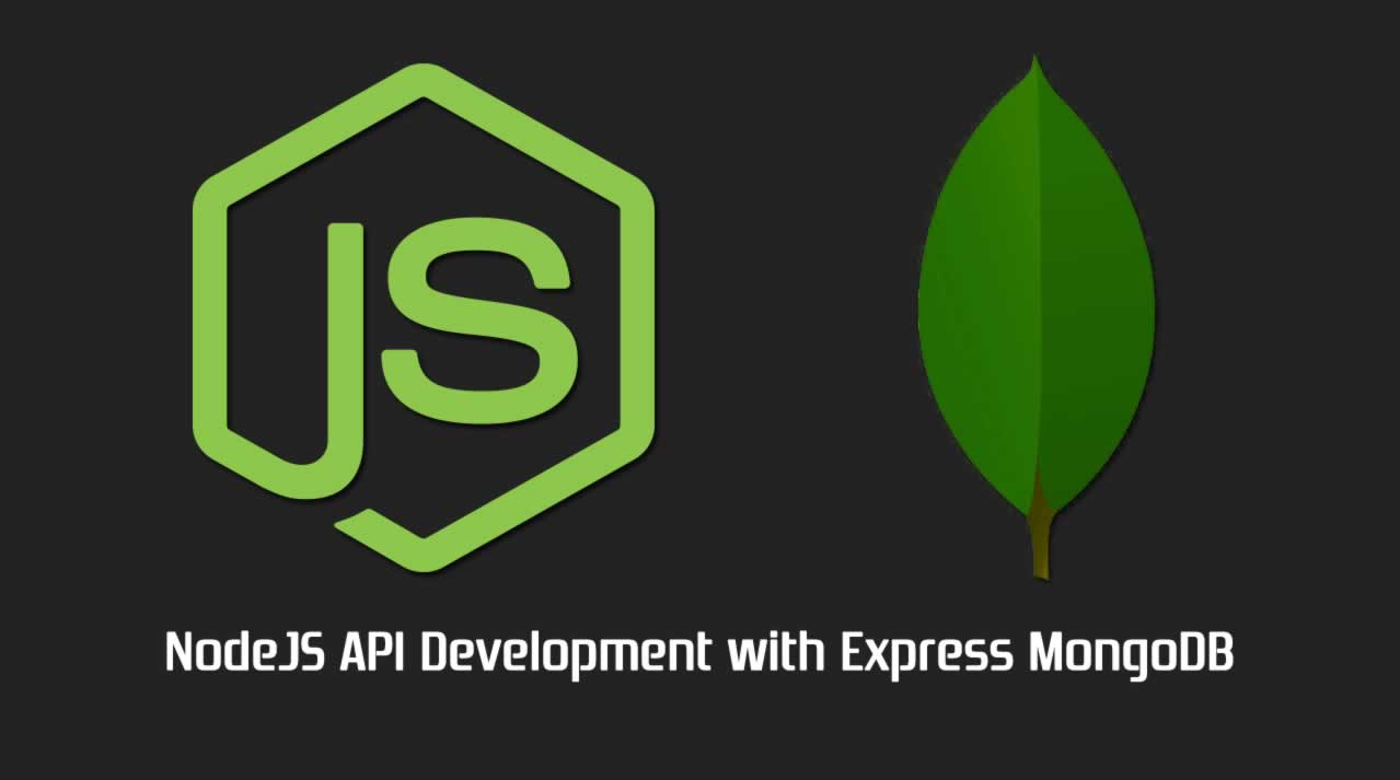 NodeJS API Development with Express MongoDB and Mongoose