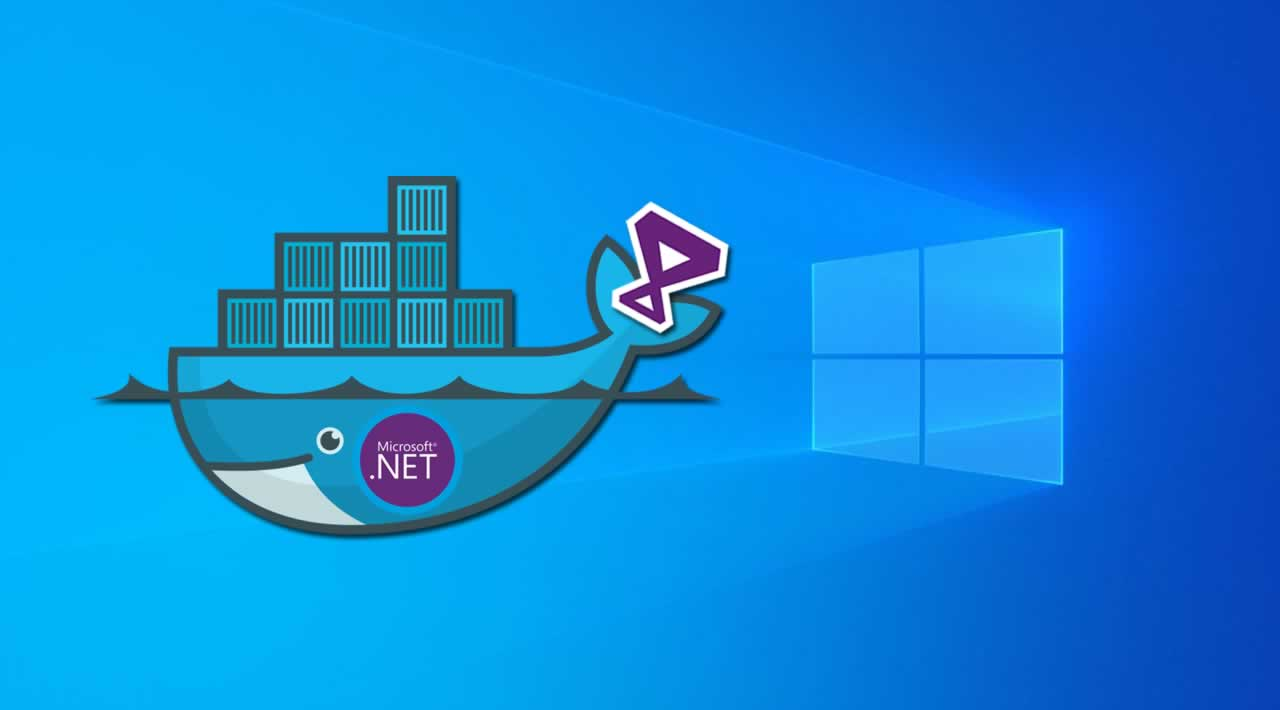 Build a .Net Framework App with Visual Studio on Windows using Docker
