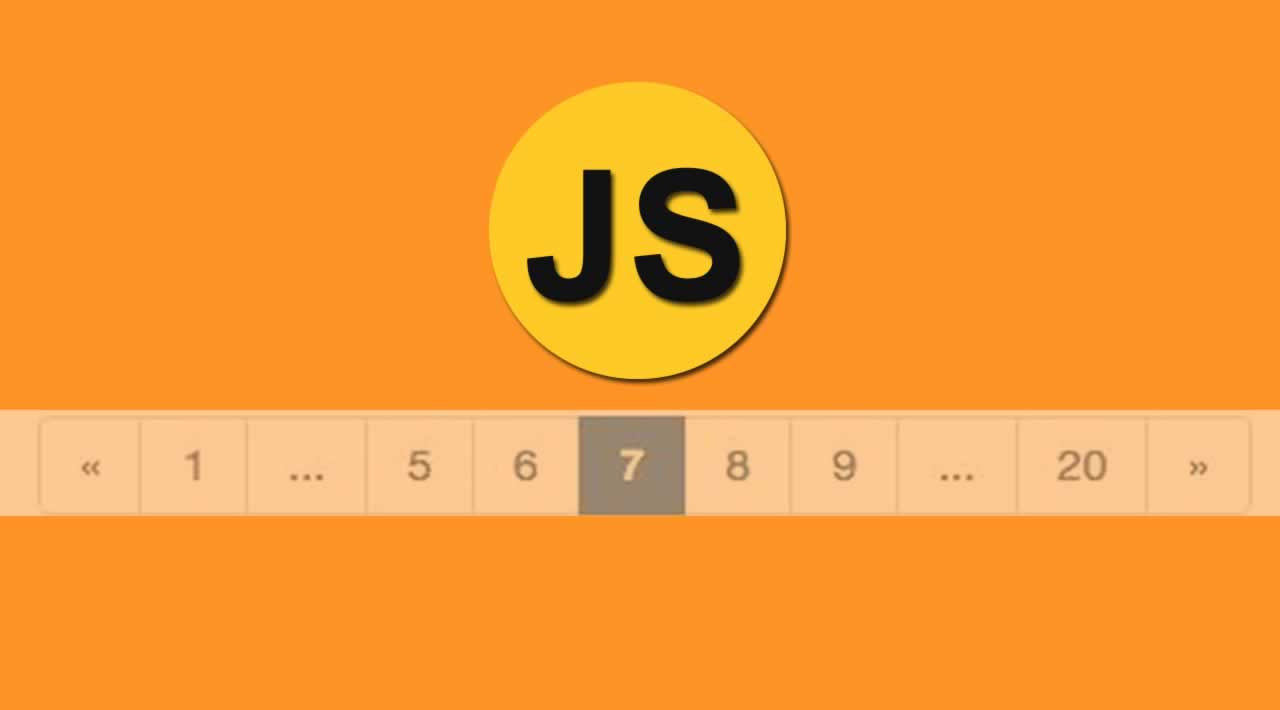 Build a Dynamic Pagination utility with JavaScript