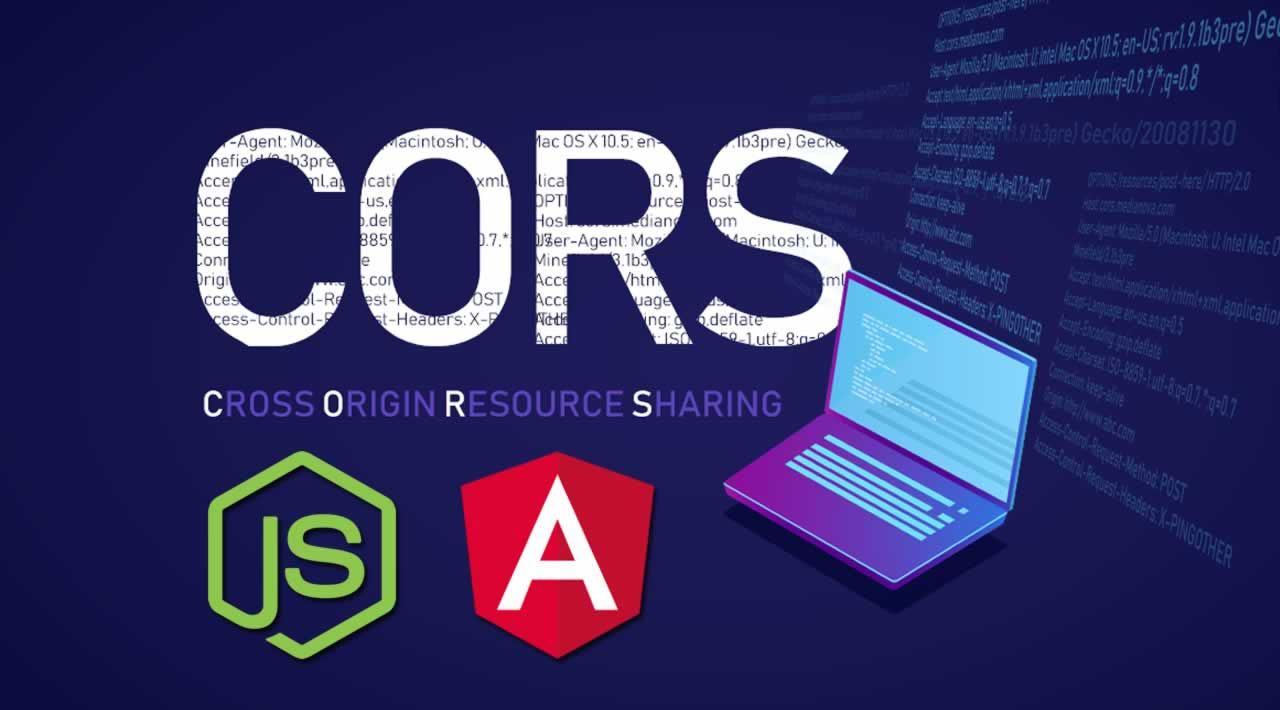 Handle CORS issue in Angular 8 and Node/Express Applications