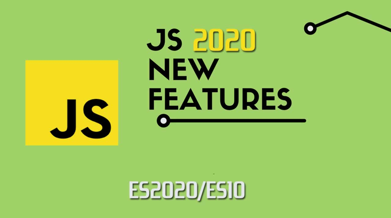 Javascript's new features in 2020