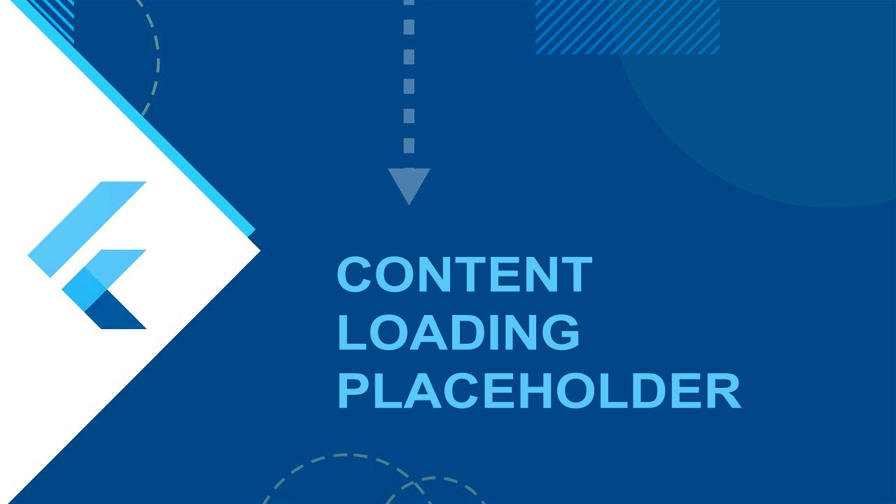 How to create Content Loading Placeholder in Flutter