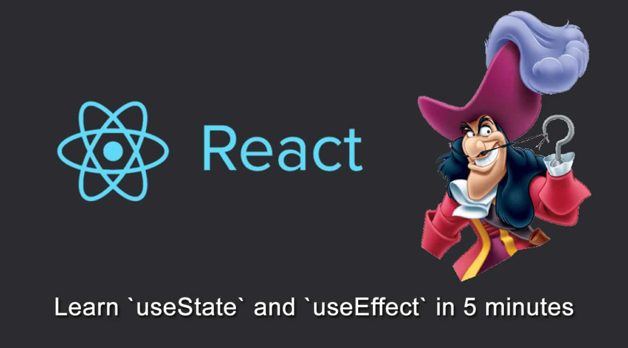 React Hooks Tutorial: Learn `useState` and `useEffect` in 5 minutes