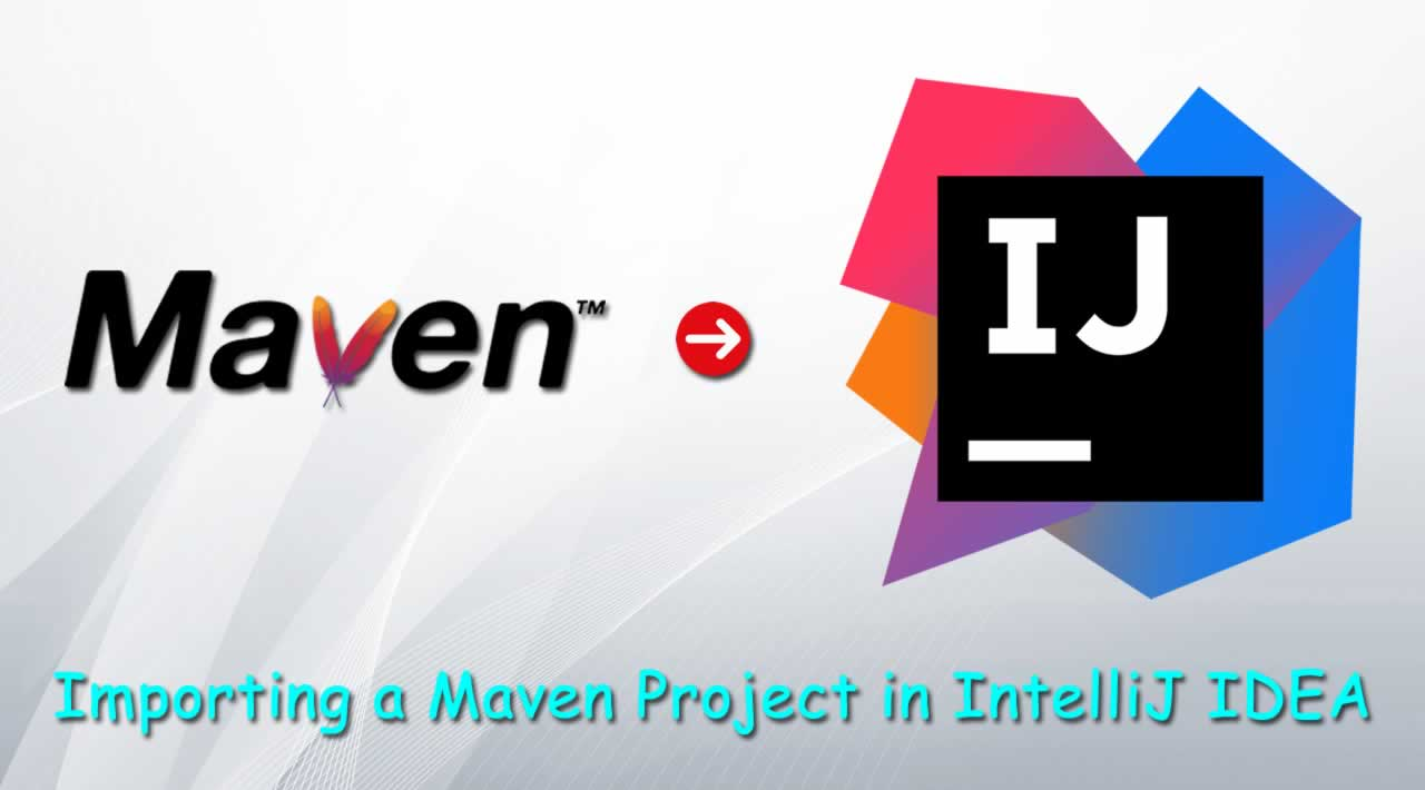 How to import an existing Maven project into IntelliJ IDEA?