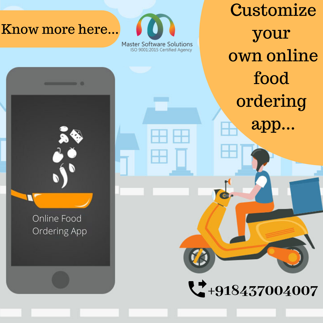 Need For Online Food Ordering App For Your Cafe