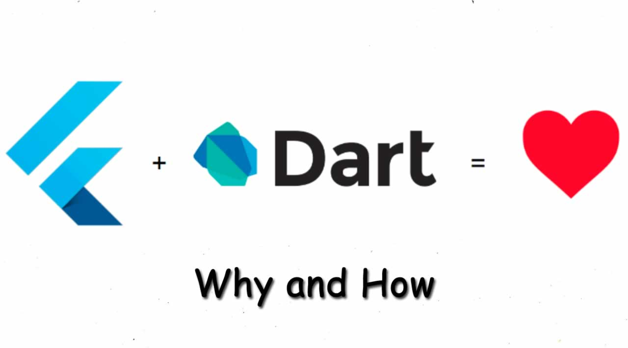 Flutter uses Dart: Why and How