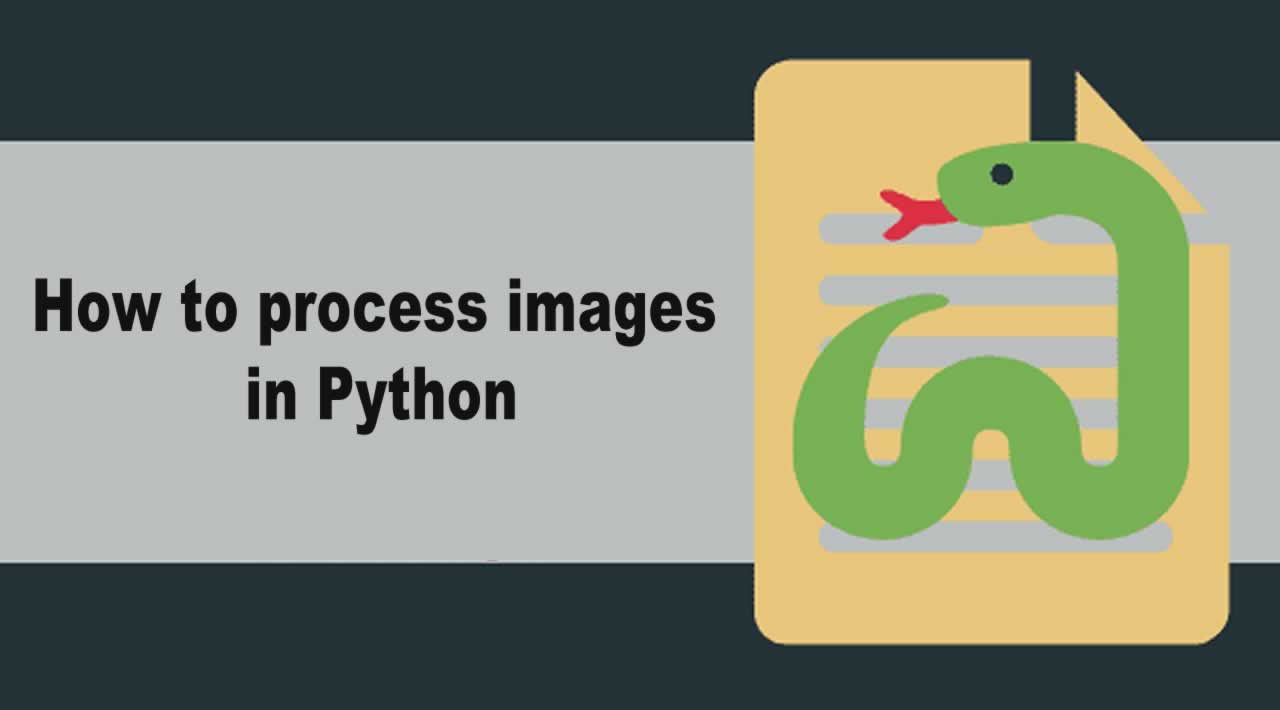 How to process images in Python