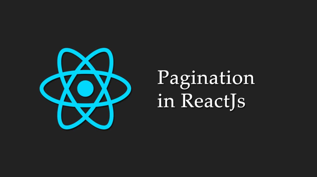 Pagination in ReactJs